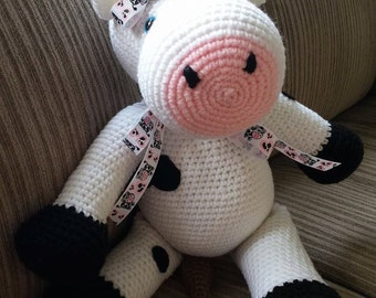 """Crochet """"Mabel The Moo Cow"""""""
