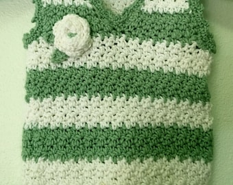 Toddler Crochet Sweater Vest - vest, sweater, baby sweater, baby vest, baby gift, newborn gift, crochet sweater, children's clothing