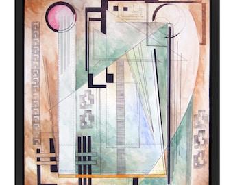 original abstract artwork _ wall art _ home decor