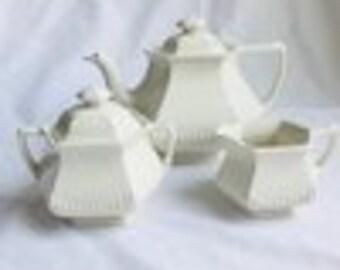 Vintage Ironstone Wm. Adams Tea Set