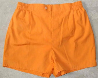 Rare ~ Original ~ 1950'S ~ White Shorts ~ Swim and Play ~ McGregor ~ USA ~ Self Belt ~ Vintage ~ Don't Miss Out on These!!! ZhaUl7