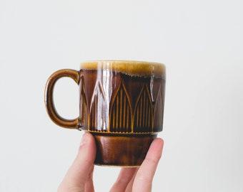 Brown Stack-able Mug