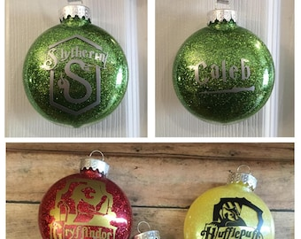 Personalized Harry Potter Ornaments!