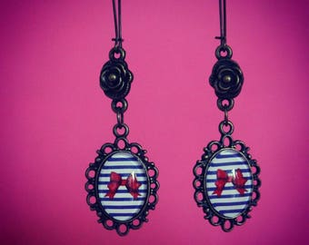 Sweet Pin Up Earrings Vintage