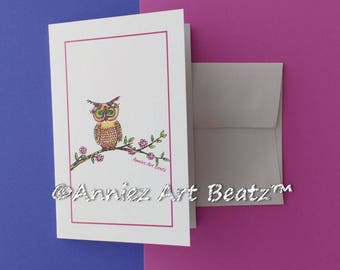 Hand drawn cards/Thank You cards/Everyday Occasion cards//art/drawing/