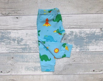 Baby Leggings, SALE  Baby Boy Leggings, Dinosaur Leggings, Sale Leggings, Boys Leggings, Baby, Toddler, Boy, Handmade, Baby Gift