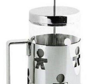 "Alessi ""Girotondo"" Press Filter Coffee Maker"