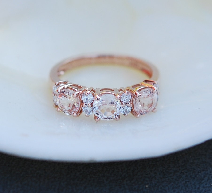 in bezel set stone pave halo with bands setting halos anniversary band ring