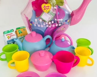 Teapot Play Set Personalized