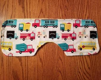 Baby Burp Cloth- Trucks