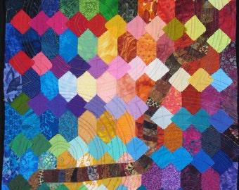 Handmade Art Quilt - PRISM
