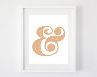 Ampersand - Digital Art Print