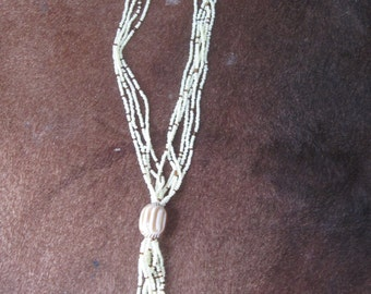 Bead lariat necklace - all proceeds go to charity