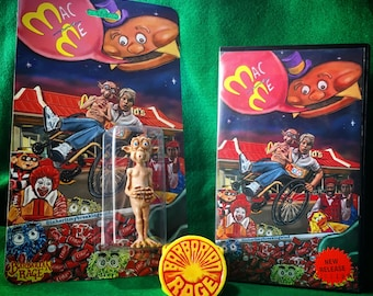 Mac and Me Bootleg: an Inherit My Breaking Wind (art) and Barbarian Rage (toy) collaboration