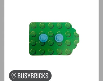 Lego Brick Stud Earrings