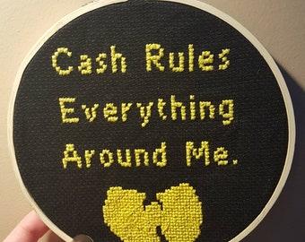 C.R.E.A.M. Cross Stitch