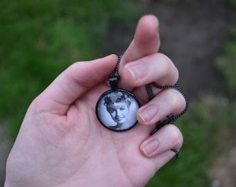 Twin Peaks Laura Palmer Homecoming Photo Pendant Necklace