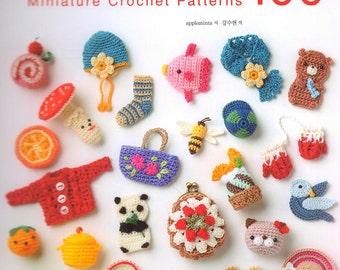 Miniature Crochet Patterns 100 -  Craft Book