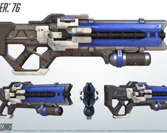 soldier 76 weapon handmade replica gun overwatch