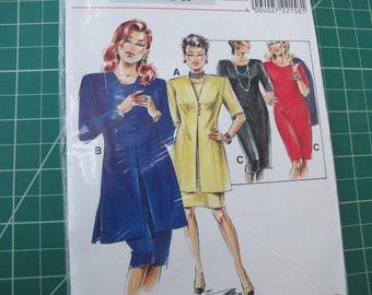 Sheath Dress with Long Jacket Neve Mode S22158 36-85/12-30 FF