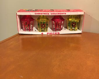 Christmas ornaments in original box