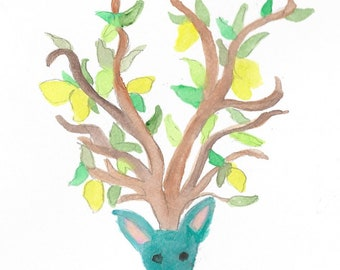 Lemon tree deer