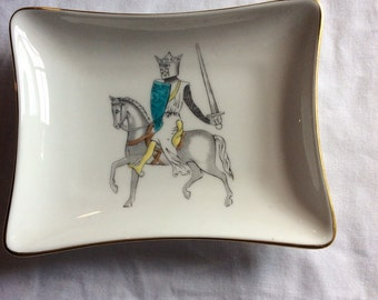 Small Jewelry Tray, Ring Dish Made in England