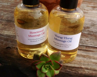 Pure Essential Oil Massage Oils 4oz