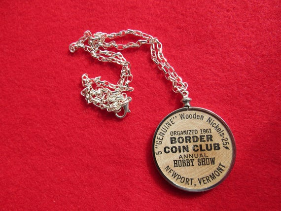 Coin bezel handcrafted coin club woodin nickel coin bezel like this item aloadofball Images