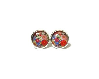 FLOWER GIRL EARRINGS- Girls Earrings- Bridesmaid Earrings- Maid of Honor Earrings- Wedding Earrings- Flower Girl Gift- Flower Girl Jewelry
