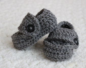 Baby Boy Loafers Crochet  Newborn Booties Newborn Loafers Baby Crochet Shoes