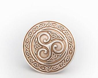 Triskel Celtic Belt Buckle