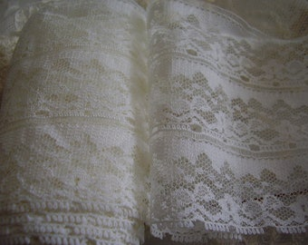 SALE! Vintage CHANTILLY Lace (By the yard)