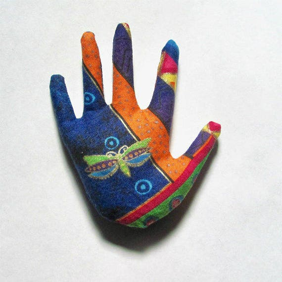 Laurel Burch Butterfly Fabric Jewelry Hamsa Brooch Pin Ready to Ship