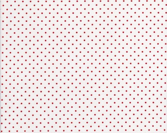Red Polka Dots - Swiss Dots by Riley Blake - Red Dots