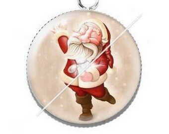 Cabochon resin cameo Merry Christmas happy holidays