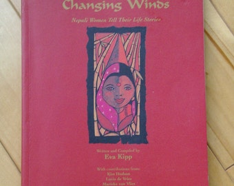 Nepali. Women of INDIA. Life Stories. Bending Bamboo. Changing Winds. EVA KIPP. 1980s. Biography. OurVintageHouse. Book Faith India