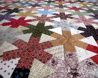 IVY Quilt Stamp set (only rubbers with cling foam backside)
