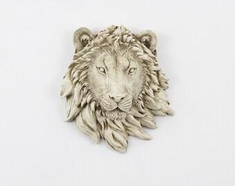 CLEARANCE,Lion Head,Nursery Wall Decor,Faux Taxidermy,Lion Decor