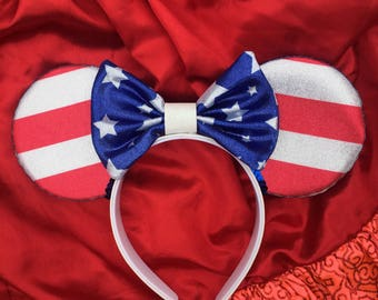 American Flag Mouse Ears