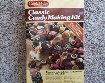 Vintage Wilton Candy Maker Classic Candy Making Kit Complete Set