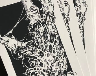 From the Grave *Limited Screenprint*