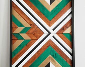 Abstract,Geometric Wood Wall Art,Wood Wall Hanging, Wood Wall Art, Boho Art Wood Wall, Art Rustic, Geometric Wall Art, Wood Wall Decor, Art,