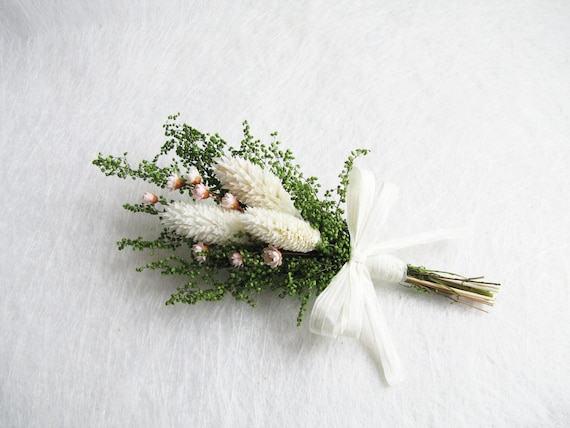 Cottage boutonniere dried flower corsage white flower cottage boutonniere dried flower corsage white flower boutonniere dried flower boutonniere rustic wedding decor rustic dried flower mightylinksfo Image collections