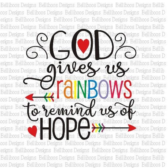 Rainbow Baby Cut File Rainbow Baby Svg Rainbow Cut File