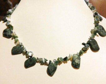 Genuine Zoisite Necklace