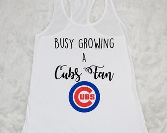 Busy Growing A Cubs Fan Tank