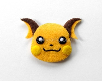 ch-ch-oose me! - exquisitely handsewn Raichu