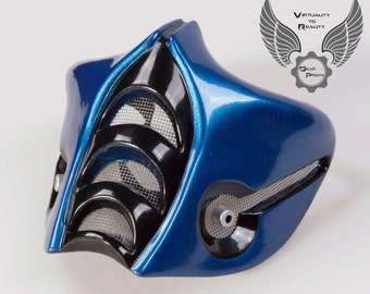 Sub-Zero 9 Mask. Mortal Kombat 9. Finished piece / Raw Resin kit. (cosplay, gift or collectibles)
