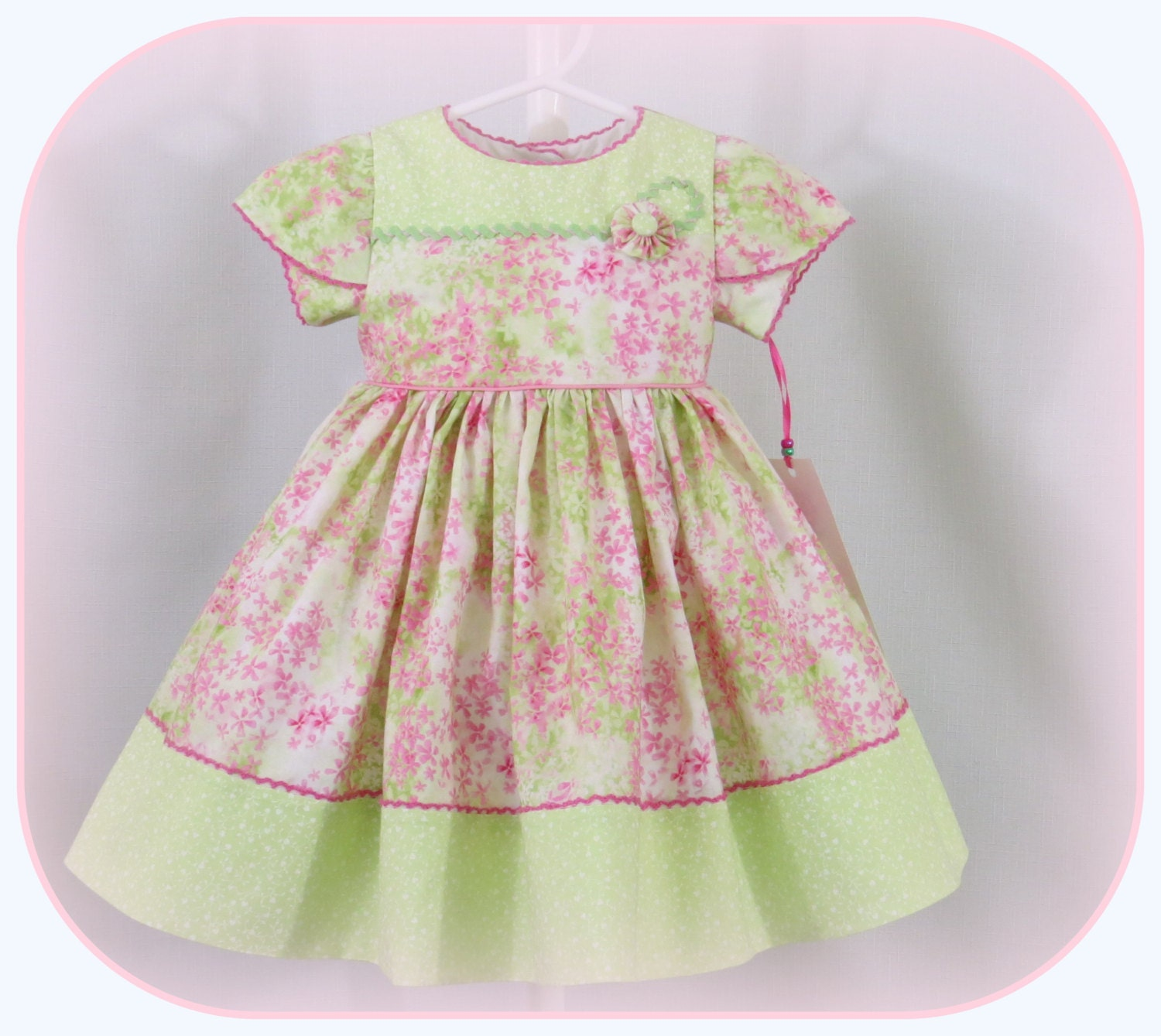 Handmade Baby Girl Infant Girl Classic Special Occasion